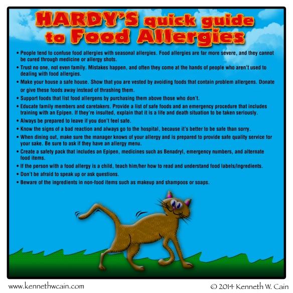 Hardys Food Allergy Rules