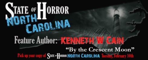 State of Horror North Carolina author Kenneth W Cain